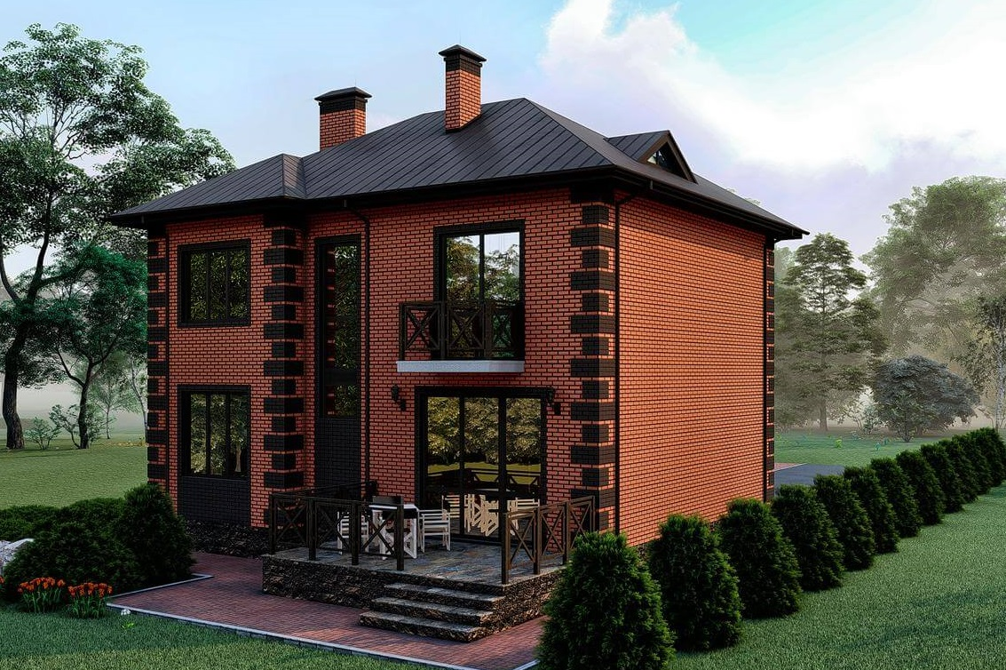 фото дизайна кирпичных домов в россии агое